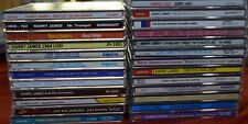 New ListingLot Of 25 Harry James Jazz Cd'S, Big Band , Swing