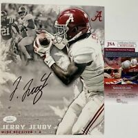 Autographed/Signed JERRY JEUDY Alabama Crimson Tide 8x10 College Photo JSA COA 6