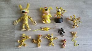 marsupilami lot 10 figurines etat be ancien