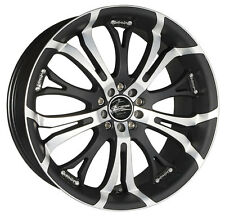 Barracuda Tzunamee Felge 7.5x17 LK 4x100 114,3 ET35 in Mattblack-Polished