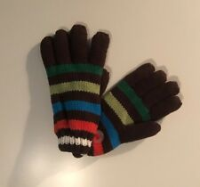 Nwt Children's Place Rainbow Striped Gloves, Size 4-6