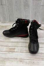 Cougar Totem Waterproof Boots - Women's Size 8M Black/Red
