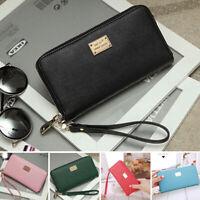 Women Ladies Clutch Fashion Wallet Long Card Holder Phone Bag Case Purse Handbag