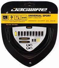Jagwire Universal Sport Shift Cable & Housing Kit fits SRAM Shimano Bike - Black