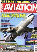 Aviation News 2015 February Airbus A330,British Midland BMA Viscount,Tu-95,Me262