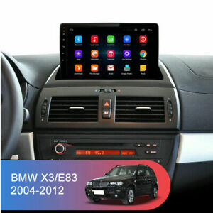For 2004-2012 BMW X3 E83 2.0i 2.5i 2.5si 9''Android 8.1 Car GPS Head Unit Player