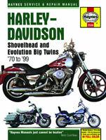 Harley-Davidson Shovelhead & Evolution Twins 1970-1999 Repair Manual