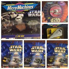 Lot Of 6 New Star Wars Micro Machines Pod racers, II Space Set, Fan Club, Y-Wing