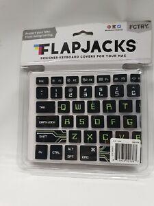 """FLAPJACKS FLEXIBLE WATERPROOF KEYBOARD COVER APPLE MacBook Air 13"""" MB PRO"""