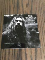 Rob Zombie Past Present Future Promo Sticker RARE