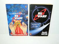 Red Dwarf Infinity Welcomes Careful Drivers & Better than Life Book Grant Naylor