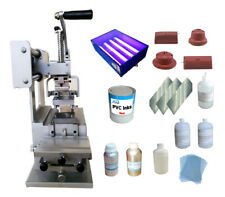 Techtongda Full Set Pad Printing Kit Manual Printer Logo Diy On Plastics Etc