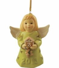Goebel Angel Bell 2013 Nib Margarita Dress Gingerbread House 108303 New In Box