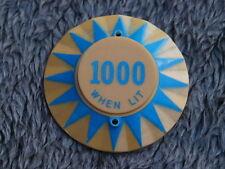 Pinball Blue ramenée 1000 points When Lit Anti-Chocs Cap Plastic Original Flipper