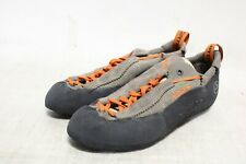 ip3-1583 La Sportiva Men's Mythos Eco Brown Climbing Shoes Sz 10.5