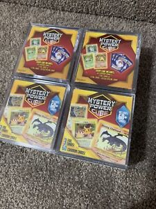 4 SEALED Pokemon Mystery Power Cubes - Free Priority Shipping