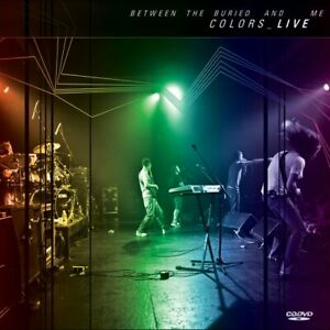 BETWEEN THE BURIED AND ME COLORS LIVE CD + DVD NEW SEALED