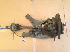 99-01 BMW 750il E38 REAR RIGHT Spindle  Knuckle Hub ASSEMBLY WITH AXLE ETC.