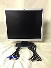 "HP 19"" LCD Flat Screen Monitor L1906 VGA / Pwr cord / VGA cable / Flat panel"