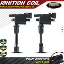 2x Ignition Coils for Mazda 323 BJ Premacy CP MX5 Ford Laser KQ 1.8L 2.0L FP FS