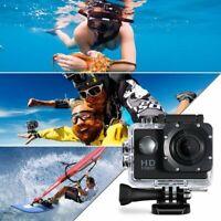 VTIN 1080P HD Waterproof Action Sports DV Camera Camcorders Video Recorder UK