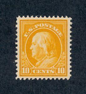 drbobstamps US Scott #416 Mint NH OG XF Centered Sound Stamp w/Clean PF Cert