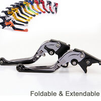 Folding Extending Brake Clutch Levers For Triumph Speed Four 2005-2006