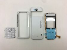 Original New Nokia 5310 Xpress Music White Full Housing Battery Cover Keyboard