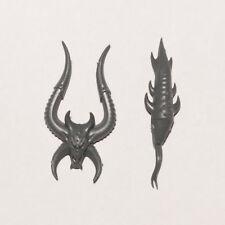 Demon i hoodie Satana chiaro Satanism demone Druid horror Pentacle Church mostro