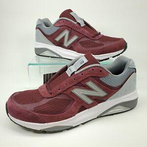 New Balance 1540v3 Running Shoes Men Size 9 D Burgundy Grey M1540BG3 Made in USA
