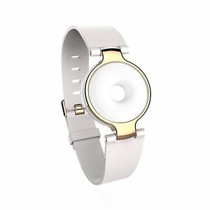 # Amazfit Moonbeam Activity + Sleep Tracker (Eggshell) white and gold