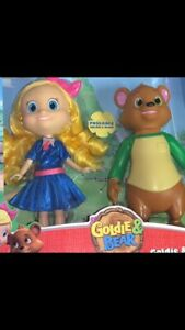 Disney Junior Goldie And Bear Poseable Dolls Figures