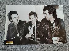 More details for the clash - large kerrang poster - joe strummer, uk punk rock - rare
