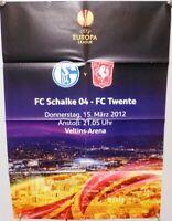 Offizielles Spielplakat + 15.03.2012 + EL + FC Schalke 04 vs. FC Twente #2