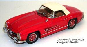 Franklin Mint 1960 MERCEDES-BENZ 300SL 1/24 MIB!
