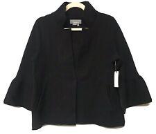 Anthropologie Blaise Mock Neck Black Sweater Jacket Sz. Medium NWT
