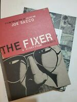 Journalism & The Fixer  by Joe Sacco ( Book Bundle)       (box 14)