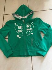 Justice Hoodie Size XS Best Friends NWT