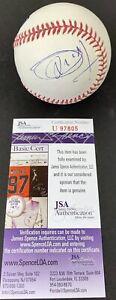 JOEL EMBIID signed ROMLB Baseball Philadelphia 76ers Ball JSA Authentication