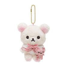 San-X Korilakkuma Hanging Stuffed Animal plush Strawberry Flowers MR39001 22c03