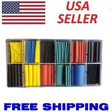 280pcs Cable Heat Shrink Tubing Sleeve Wire Wrap Tube 2:1 Assortment Kit Box Set