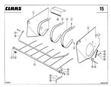 CLAAS Markant 55 Baler Parts Catalogue (PDF file) SPARE PARTS LIST CATALOGUE