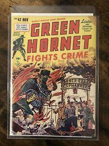 Green Hornet Comics #42 Harvey Publications (Nov, 1948) Golden Age