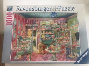 Ravensburger puzzle 1000. The candy shop