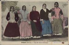 BOLIVIA TIPO DE CHOLAS BOLIVIANAS REAL PHOTO 25 ED. EL SIGLO