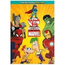 Phineas and Ferb: Mission Marvel (DVD, 2013)