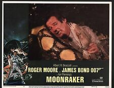JAMES BOND MOONRAKER ROGER MOORE ORIGINAL UNITED ARTISTS 1979 LOBBY CARD