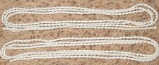 White Bead 10 Foot Strand Jewelry or Garland Decoration