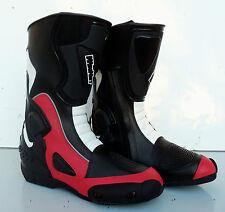 bottes moto rouge NEUF motorradstiefel 42 44 45 46 47