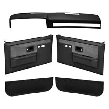 Chevy Blazer 87-91 Coverlay Black Interior Combo Kit Full Power Windows